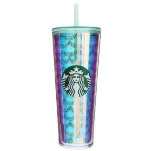 NWT Starbucks 2020 Iridescent MERMAID Tumbler